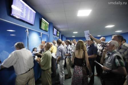 игровой зал Московского ипподрома