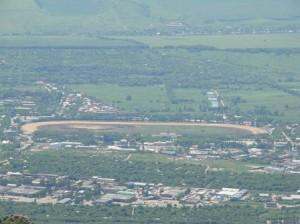 Пятигорский ипподром вид сверху