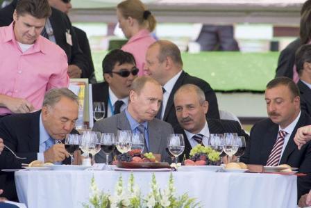 на розыгрыше Приза Президента РФ