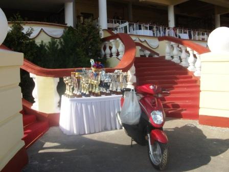 Мотоцикл для победителя Кубка Н.Н.Насибова