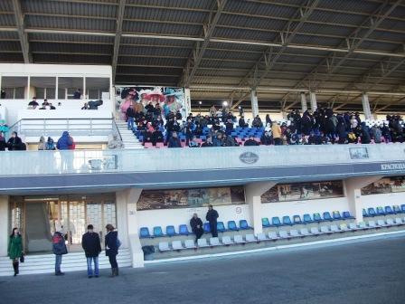 Посетители Краснодарского ипподрома
