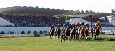 la carrera en La Zarzuela