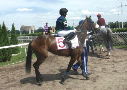 Участница приза реки Кубань