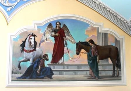 Икона покровителей лошадей
