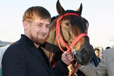 Кадыров с любимцем