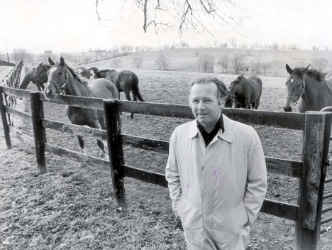Robert Sangster at his farm