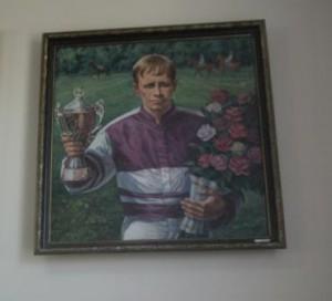 Портрет ученика А.Чугуевца В. Мелехова