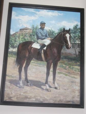 Николай Насибов на жеребце Анилин