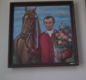 Портрет жокея