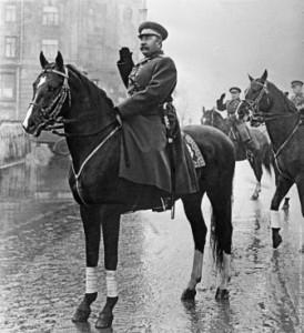 Маршал Буденный на коне