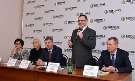 Министр сельского хозяйства РФ Н.В.Федоров