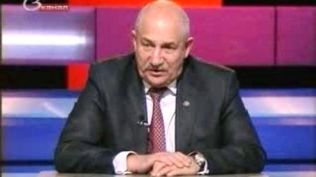 Жуковский дает интервью на телевидении