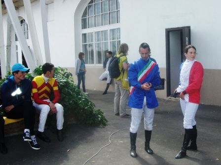 Участники чемпионата в паддоке
