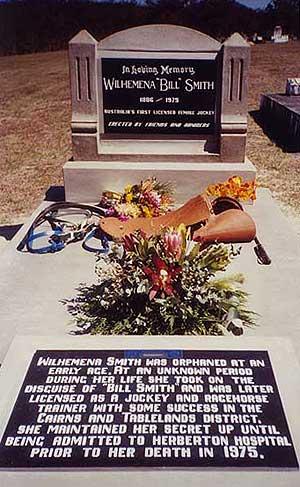 Надгробие Вильгельмины Смит