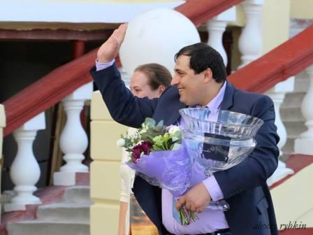 Тренер Мурат Байрамкулов