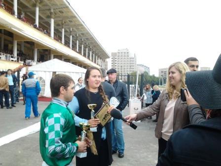 интервью после победы