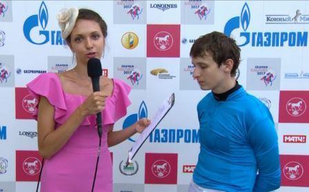 Жокей Александр Чугуевец