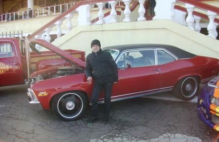 Красная машина и Вова
