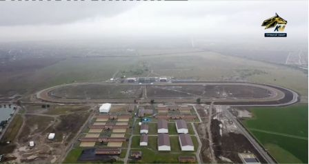 Открытие ипподрома в Грозном